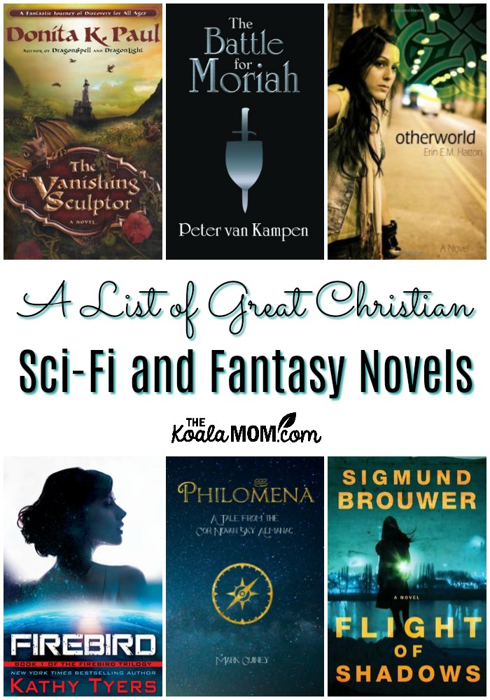 A list of great Christian sci-fi novels and Christian fantasy novels.