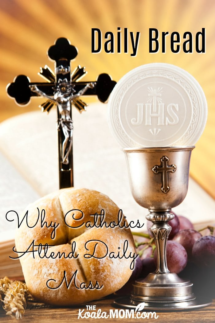 Daily Bread: Why Catholics attend daily Mass