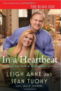 image of book: In a Heartbeat by Leigh Anne and Sean Tuohy