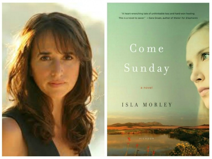 Author Isla Morley and her debut novel Come Sunday