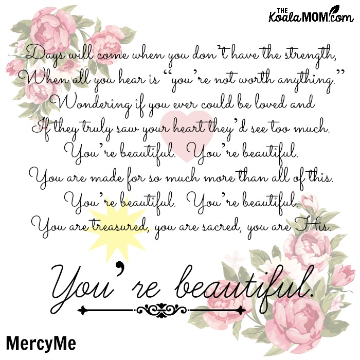Faith-filled music from MercyMe - You Are Beautiful
