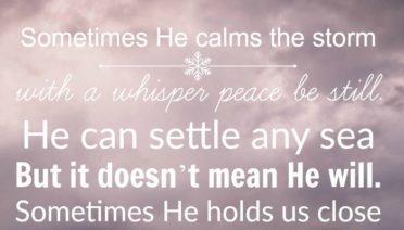 Sometimes He Calms the Storm - faith-filled music by Scott Krippayne
