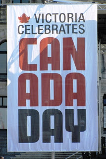 picture of Canada Day banner