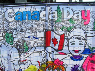 Canada Day Mural image