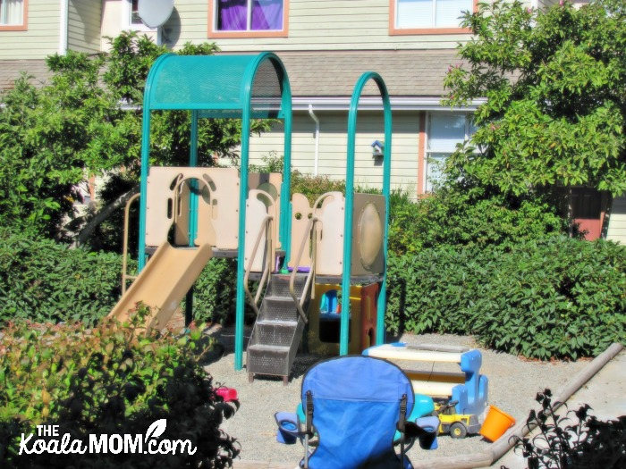 Creating community in our neighbourhood by spending time in the playground