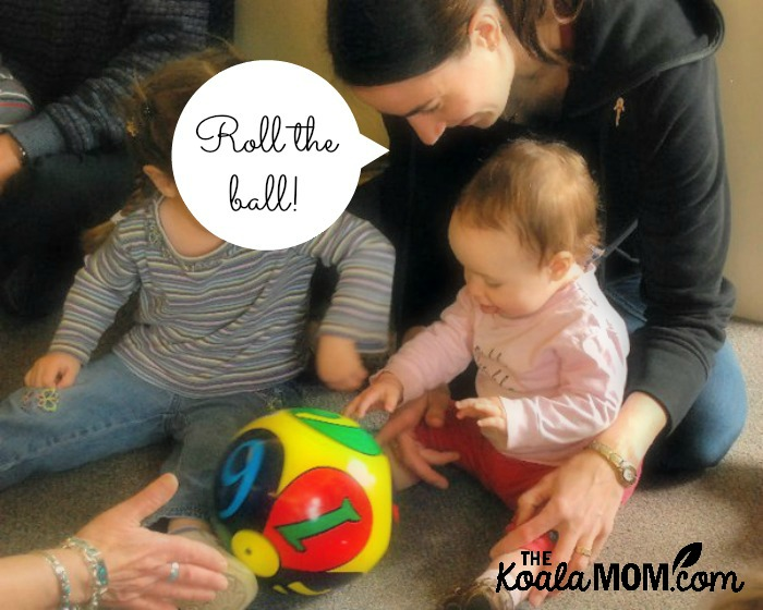 Creating community in our neighbourhood at a playgroup for moms and kids