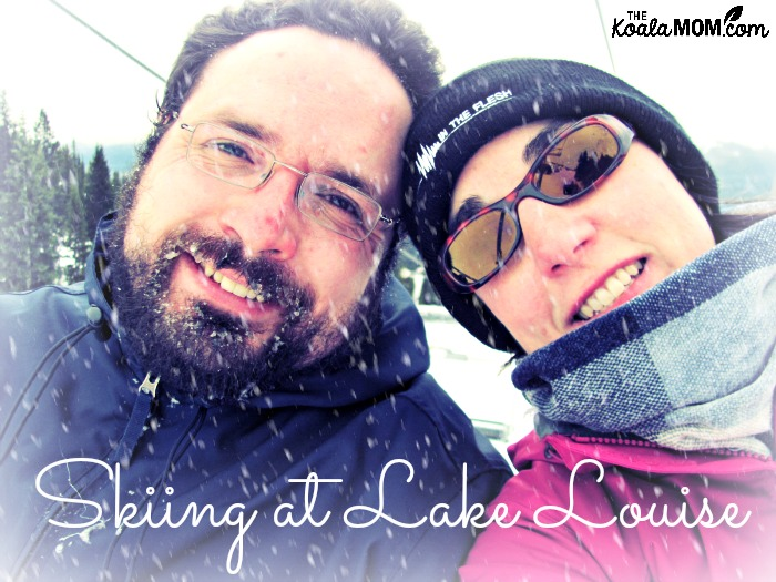 Downhill skiing at Lake Louise for Christmas 2011