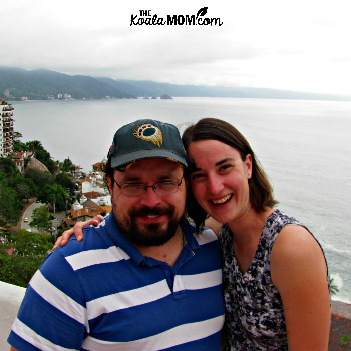 Bonnie Way with her husband in Puerto Vallarta, Mexico.