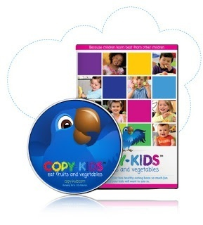 Copy Kids Eat Vegetables DVD