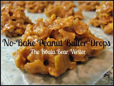 No Bake Peanut Butter Drops