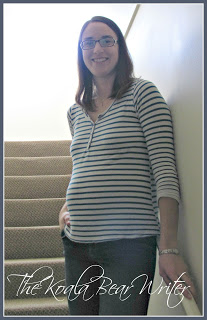 A casual and comfy maternity top from EverlyGrey Maternity