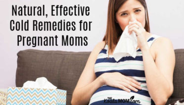 Natural, Effective Cold Remedies for Pregnancy Moms