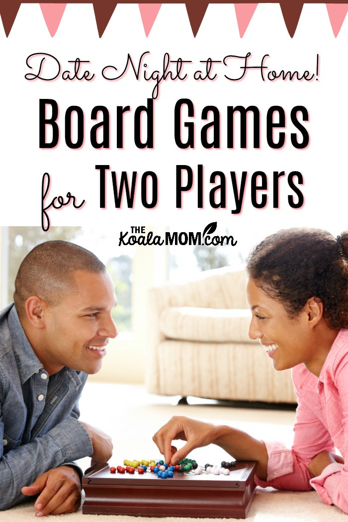 Date Night at Home! Board Games for Two Players