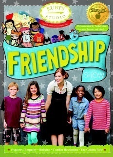 Ruby's Studio DVD The Friendship Show teaches children about making and being friends.