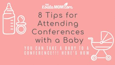 8 Tips for Attending a Conference with a Baby