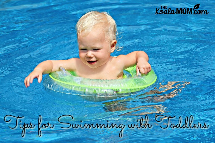 Tips for swimming with toddlers