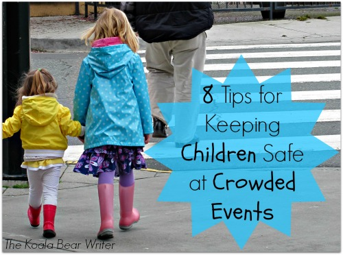 8 tips for keeping children safe at crowded events