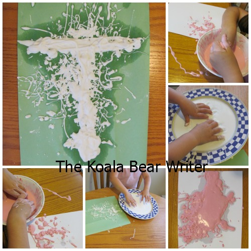 Oobleck turtles (and other alphabet crafts for preschoolers)