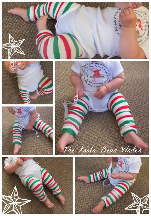 Baby's first Christmas onesie from Zoey's Attic Personalized Gifts