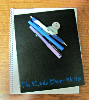 writing tools - notebook and pens