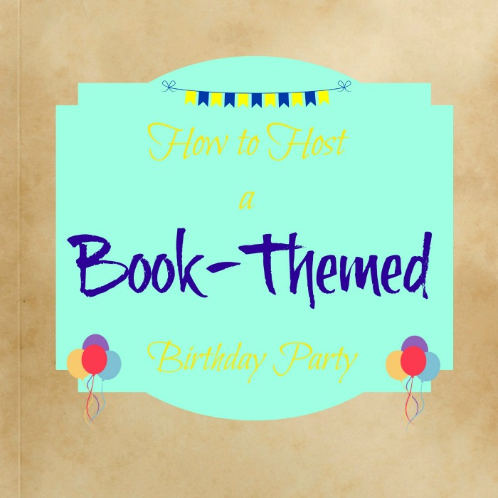 book-themed birthday party