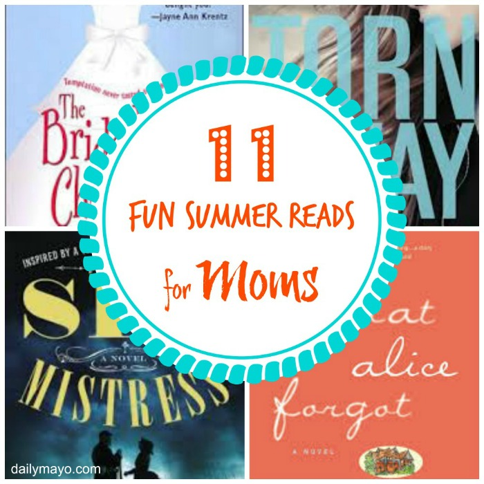 Fun 11 Fun Summer Reads for Moms