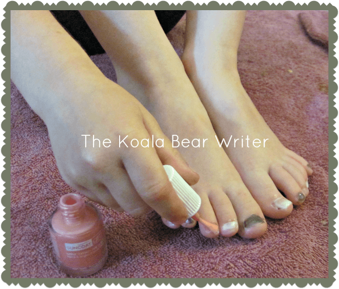 Painting Our Nails with Suncoat Girl Nail Polish - The Koala Mom