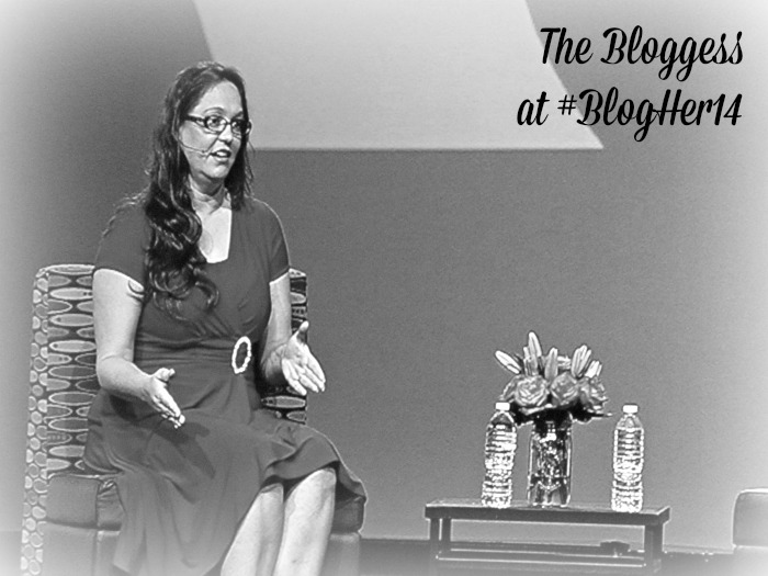The Bloggess speaking at BlogHer14