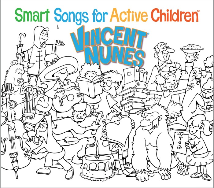 Smart Songs for Active Children by Vincent Nunes