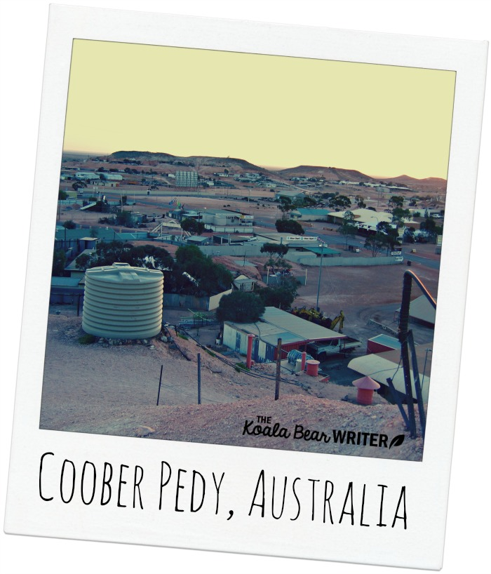 A view of Coober Pedy, Australia