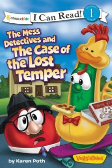 VeggieTales The Mess Detectives and the Case of the Lost Temper