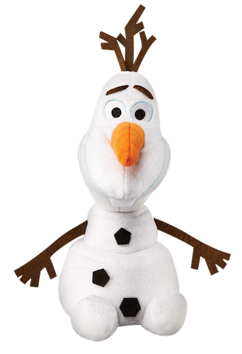 Christmas gifts for Frozen fans: an Olaf stuffy