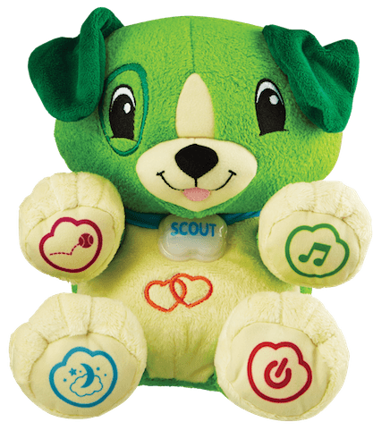 LeapFrog Scout Plush Green_Out