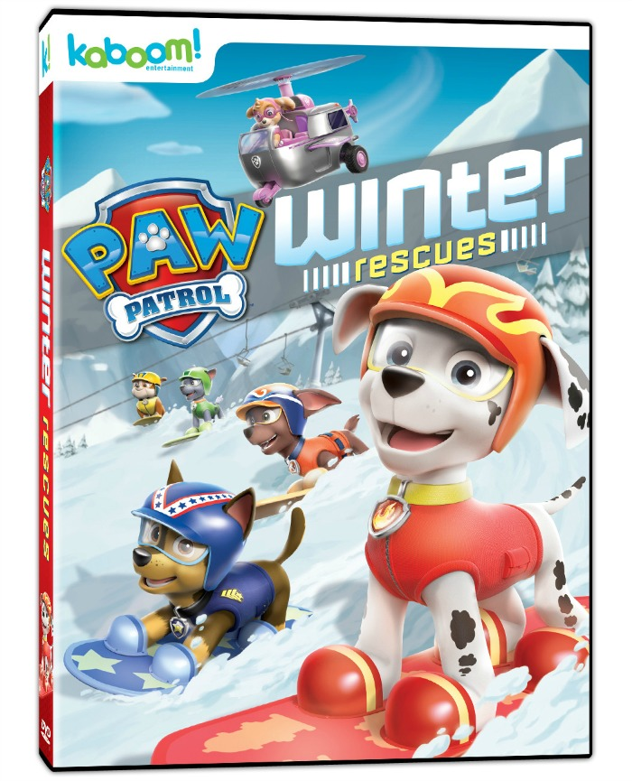 PAW Patrol: Winter Rescues DVD giveaway