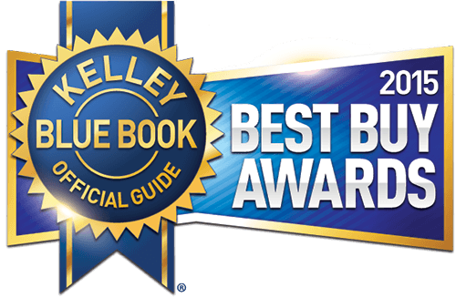 Kelley Blue Book 2015 Best Buy Awards