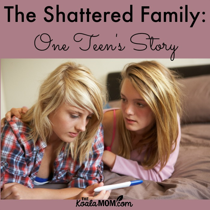 The Shattered Family: One Teen's Story