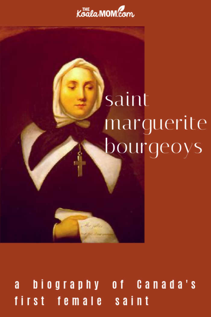 Saint Marguerite Bourgeoys, Canada's first female saint