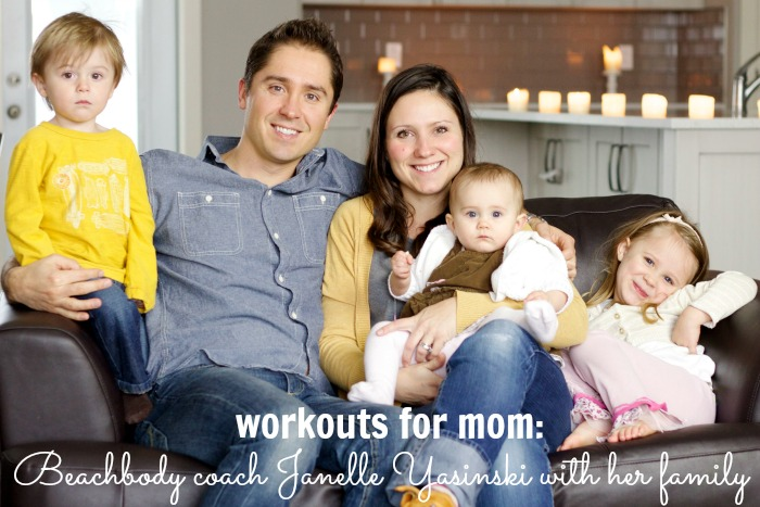 Beachbody coach Janelle Yasinski shares how she found workouts for mom to help lose weight and gain focus, even with three kids and a busy schedule!