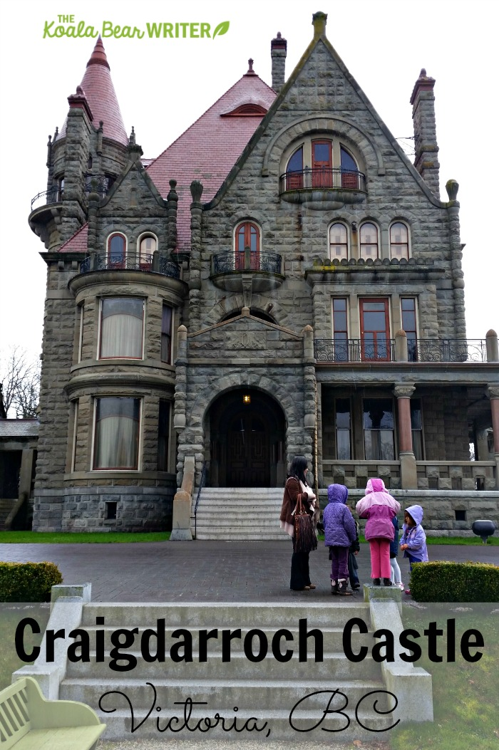 Craigdarroch Castle in Victoria, BC offers a fascinating glimpse of the city's history from 1900 to today.