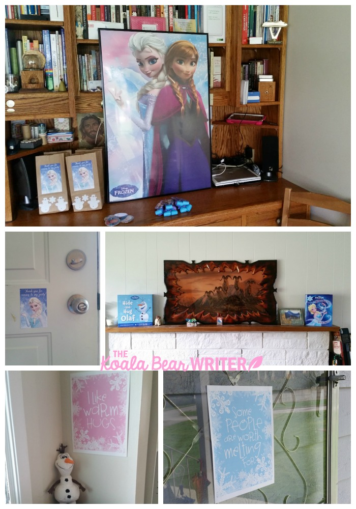 Decoration ideas for Frozen birthday party