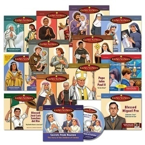 Holy Heroes Glory Stories help children learn about the faith and develop an interest in praying the rosary.