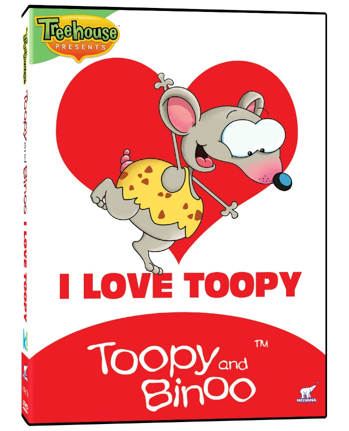 I Love Toopy and Binoo DVDs from kaboom! kids
