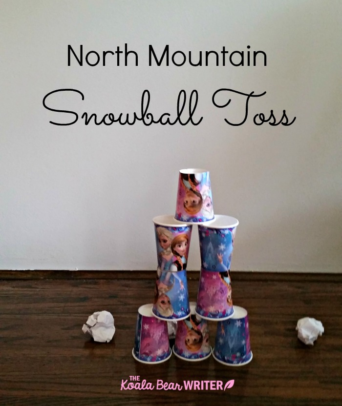 North Mountain Snowball Toss Frozen party game