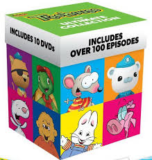 Treehouse: The Ultimate Collection includes 10 DVDs with over 100 episdoes of Max & Ruby, Octonauts, My Big Big Friend, Toopy & Binoo, Franklin and more!