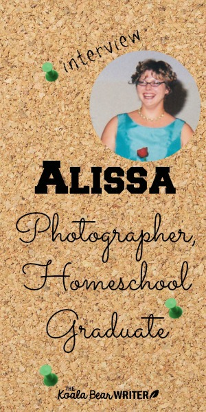 An interview with Alissa, photographer and homeschool graduation