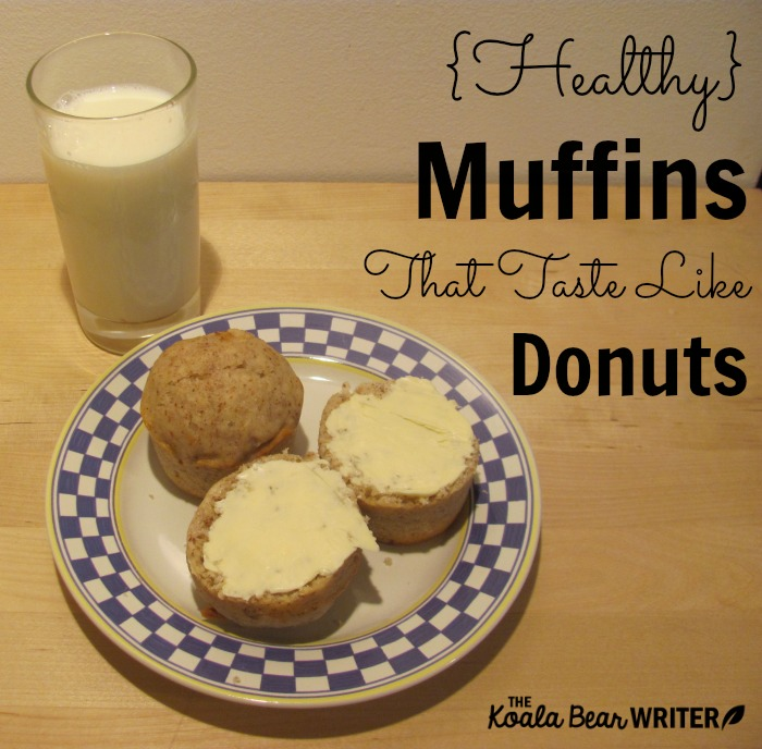 Healthy Muffins that Taste Like Donuts