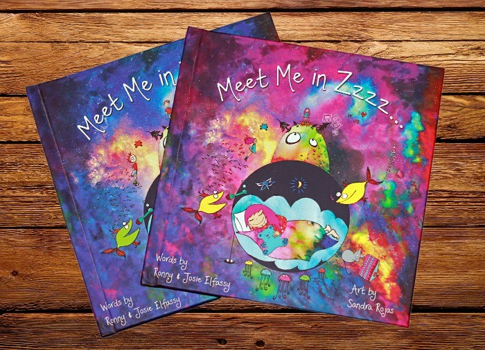 MagneTree book Meet Me in Zzzzz... covers (personalized products for kids)