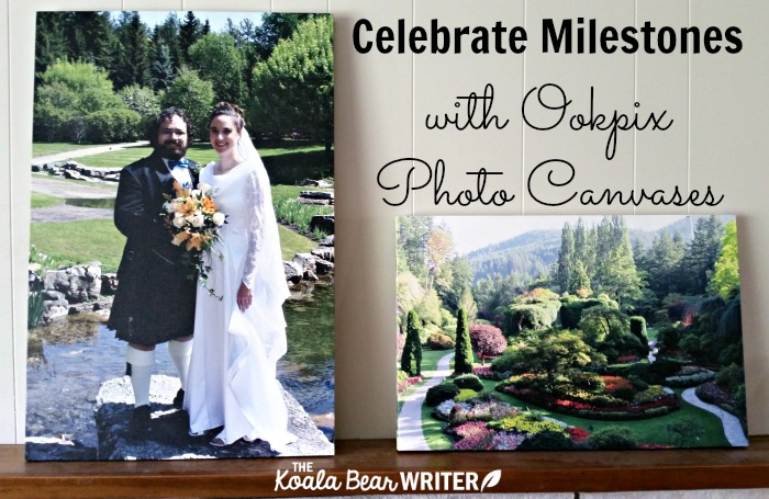 Celebrate milestones with Ookpix Photo Canvases