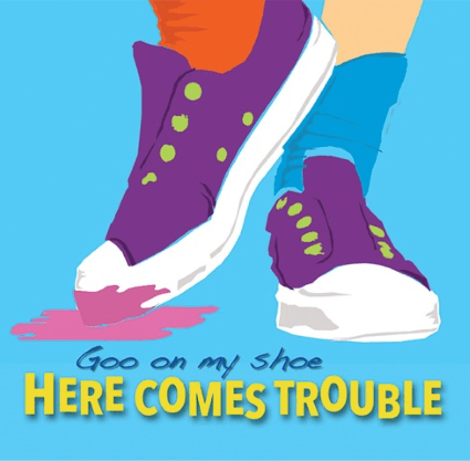 Goo on My Shoe CD by the band Here Comes Trouble