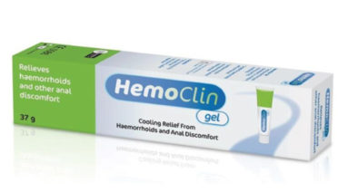 Hemoclin - cooling relief from haemorrhoids and anal discomfort.